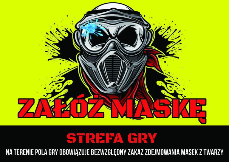 Załóż maske